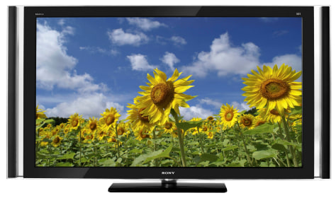 Image: Sony HDTV using LED
