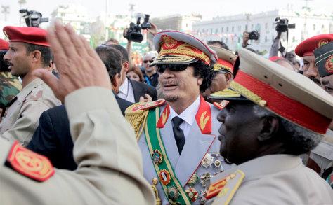 Image: Moammar Gadhafi