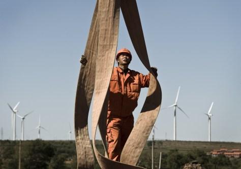Image: Chinese wind turbine farm