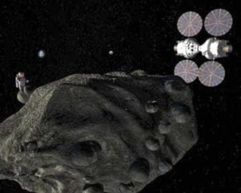 Image: Orion asteroid mission
