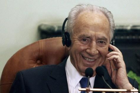 Image: Israeli President Shimon Peres