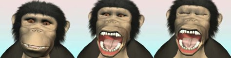 Image: Chimp cartoon