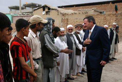 Image: U.S. ambassador to Afghanistan Karl Eikenberry