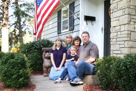 Image: Hildebrandt family