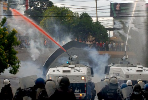 Image: Honduras, riots
