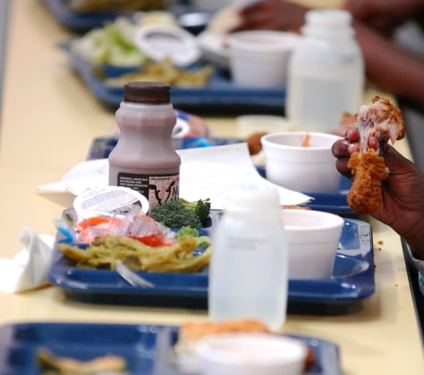 Image: School lunch