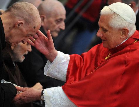 Image: Pope Benedict XVI in Stara Boleslav, Czech Republic