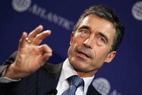 Image: NATO Secretary General Rasmussen