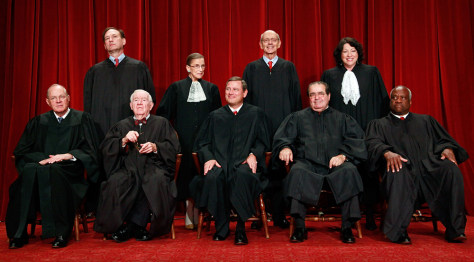 Image: U.S. Supreme Court Justices