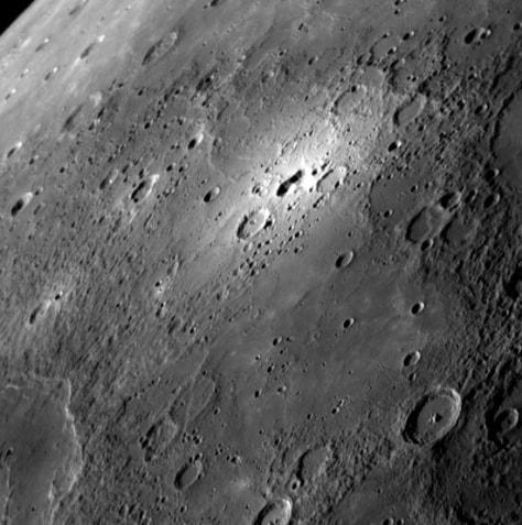 Image: Mercury bright spot