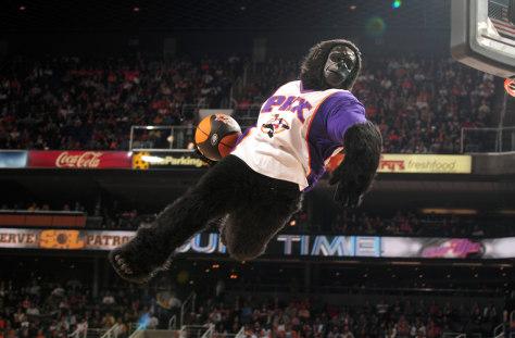 Image: Phoenix Suns' mascot