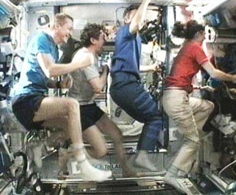 Image: Colbert treadmill