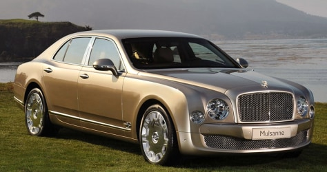 Image: Bentley Mulsanne 2011 Model