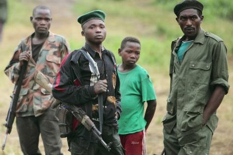 Image: Rwandan Hutu rebels