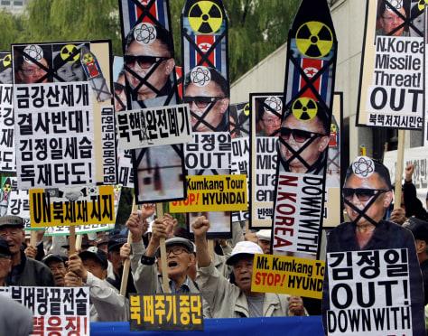 Image: South Korean conservative activists