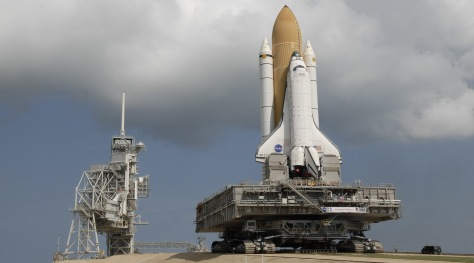 Image: Atlantis rollout