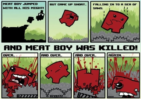 Image: Super Meat Boy