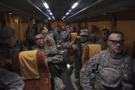 Image: Troops leaving Iraq