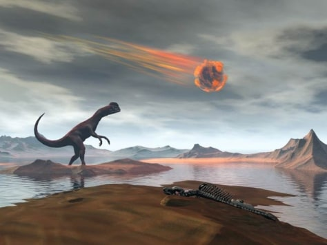 the alvarez hypothesis as the reason for the extinction of dinosaurs from the earth The extinction of the dinosaurs is an import issue that can shed light on the repeated  ago we will go on to discredit the asteroid theory  like luis alvarez.