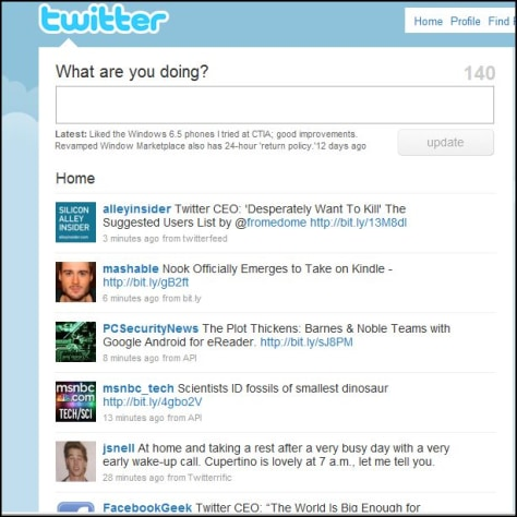 Image: Twitter screen
