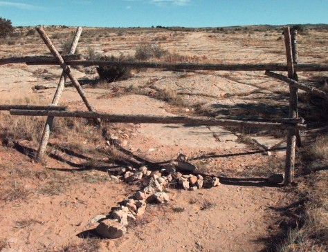 Image: Site of fatal beating outside Laramie, Wyo.
