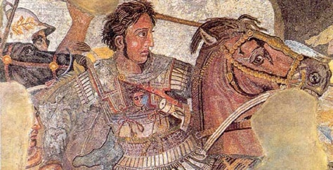 Image: Mosaic of Alexander the Great