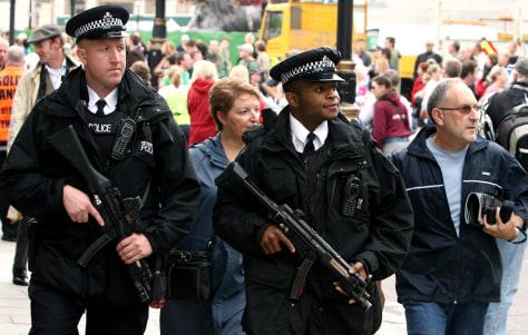 Image: British police