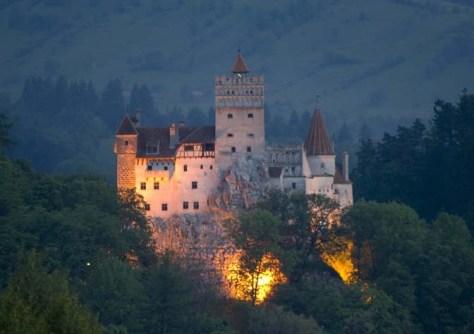 Image: Dracula's castle