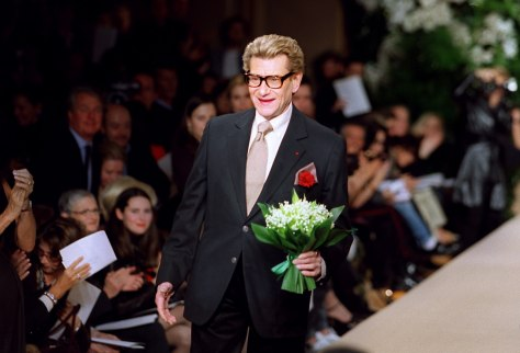 Image: French designer Yves Saint Laurent