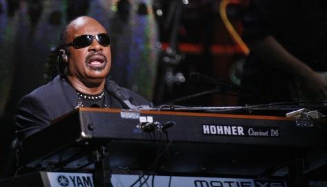 Image: Stevie Wonder