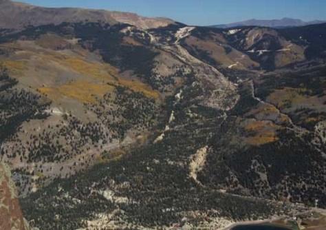 Image: Slumgullion landslide