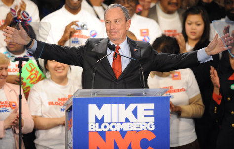 Image: New York City Mayor Michael Bloomberg
