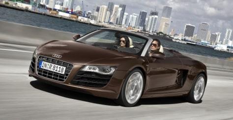 Image: Audi Spyder