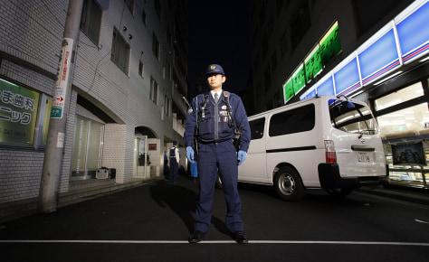 Image: Policeman in Yokohama