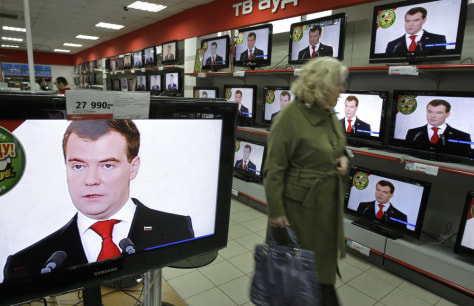 Image: Russian President Dmitry Medvedev