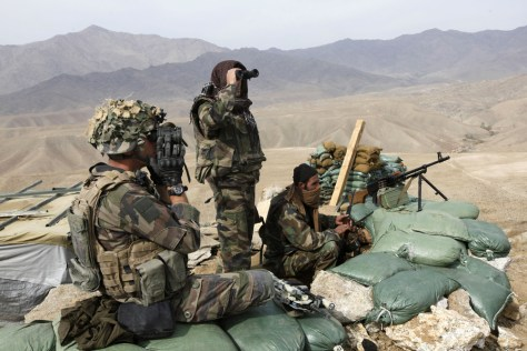 Image: NATO French Foreign Legion soldiers in Afghanistan