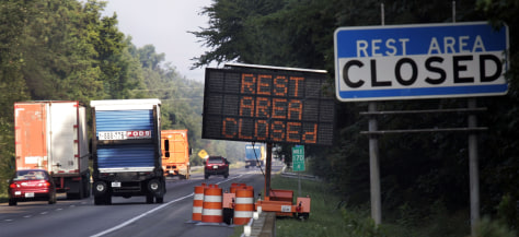 Image:Closed rest stop