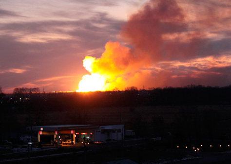 Explosionin Ulyanovsk, Russia
