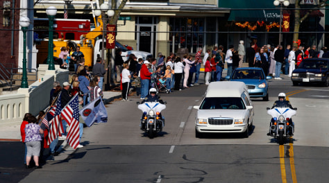 Image: Funeral procession