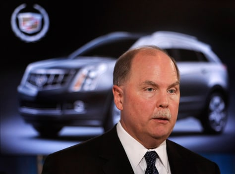 Image: GM CEO Fritz Henderson