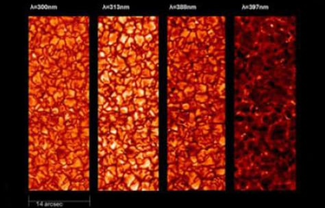 Image: Sunrise telescope images