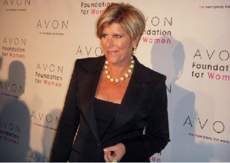 Image: Suze Orman attends the 2009 Avon Foundation for Women Gala