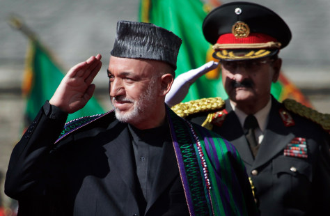 Image: Afghanistan's President Hamid Karzai