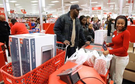 Image: Shopping at Target