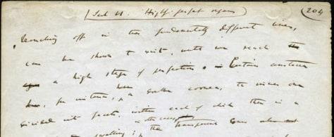 Image: Darwin's drafts