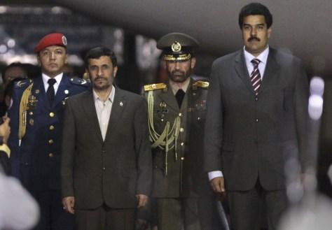 Image: Mahmoud Ahmadinejad, Nicolas Maduro