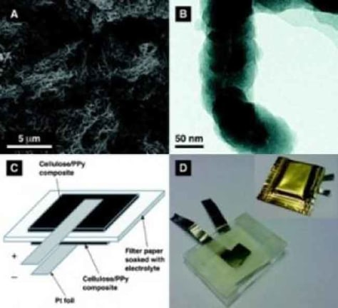 Image: Paper-based battery