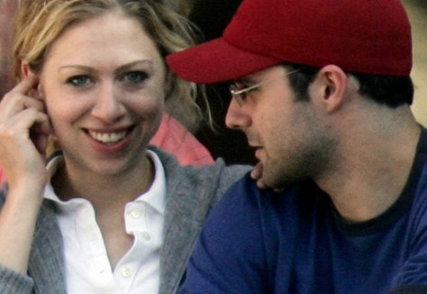 Image: Chelsea Clinton and Marc Mezvinsky