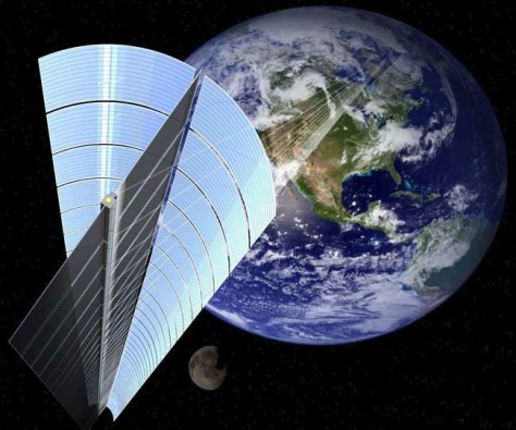 Image: Space solar power system