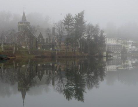 Image: Lake Placid village